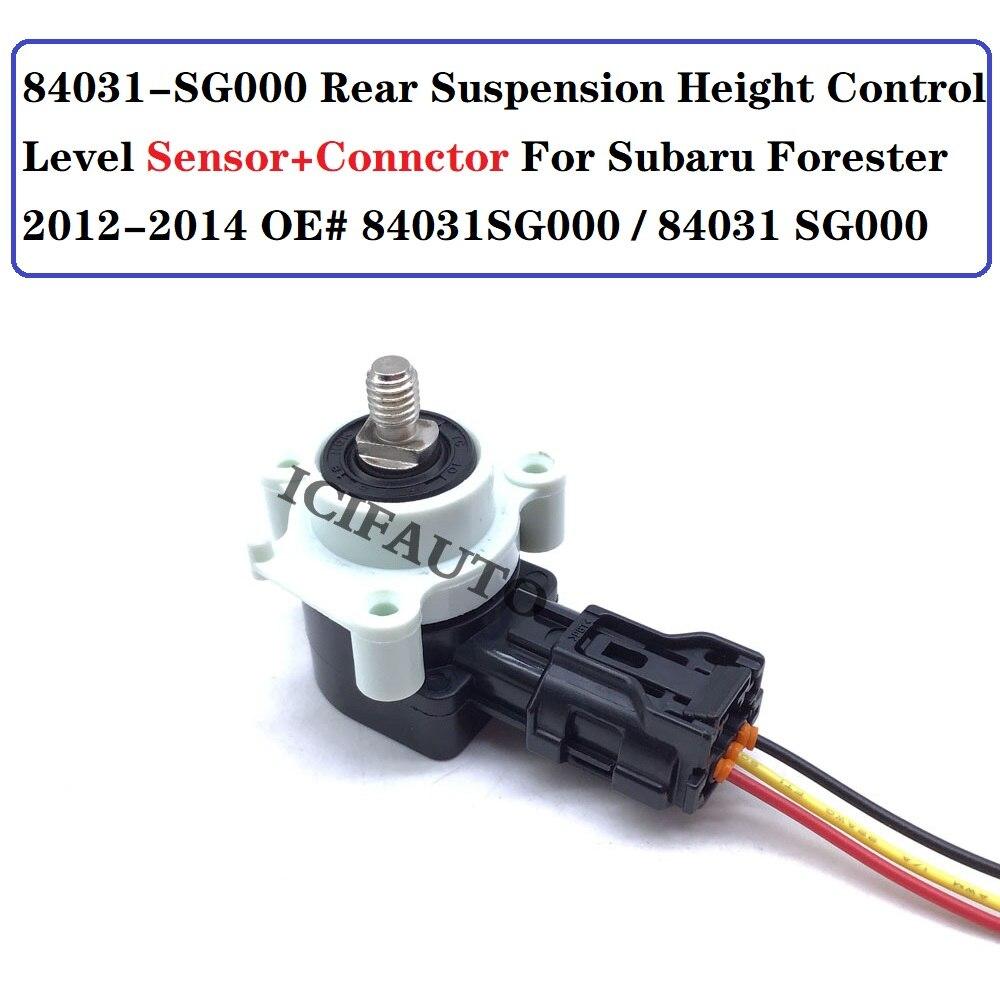 84031-SG000 Rear Suspension Height Control Level Sensor + Connector For Subaru Forester 2012-2014 OE#  84031SG000 / 84031 SG000