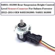 84031 SG000 Rear Suspension Height Control Level Sensor + Connector For Subaru Forester 2012 2014 OE#  84031SG000 / 84031 SG000