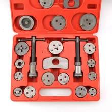Pinza de freno de disco Universal, almohadilla trasera de viento de pistón, juego de herramientas de ajuste de compresor, accesorios de coche, 21 Uds., HWC