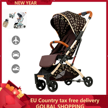 Lightweight Strollers For Newborns Boy Girl Can Seat San Sleep Convenient Travel System Folding