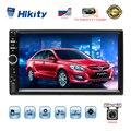 Hikity 2 Din автомобильное радио HD 7