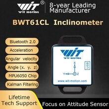 BWT61CL High Präzision Bluetooth Beschleunigungs + Gyroskop + Winkel (XYZ, 100HZ), 6 achse MPU6050 AHRS Neigungsmesser, Unterstützung PC/Android