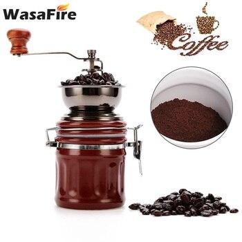 2020 nuevo molinillo de café de cerámica Retro molinillo Manual de café...