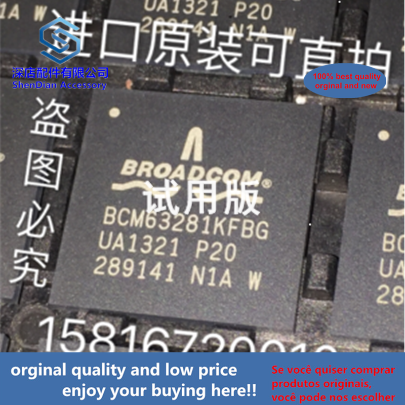 1pcs 100% Orginal And New BCM63281KFBG P20 BGA Best Qualtiy