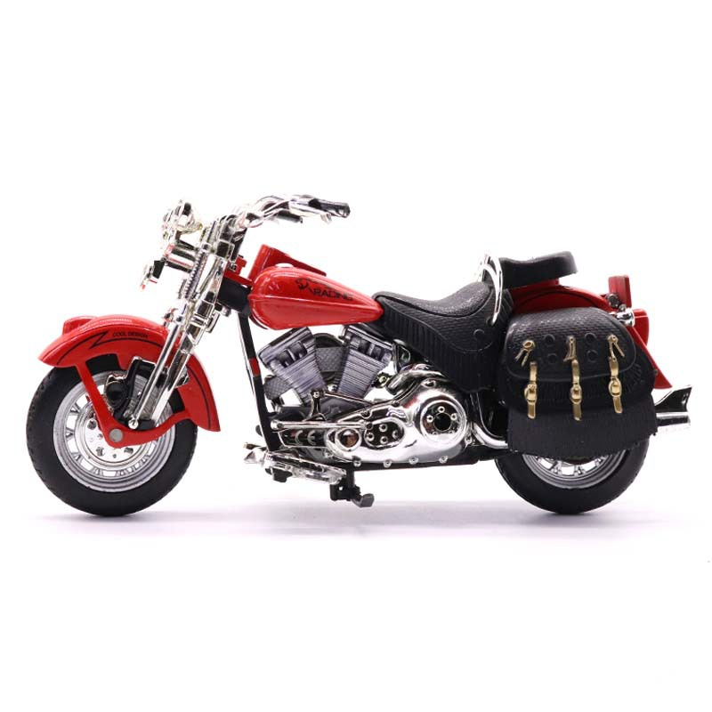 1:12Kid Diecast Alloy Motorcycle Model Toy Off Road Motor Bicycle Simulation Collection Racing Car Children Birthday Gift TY0478