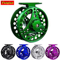 Fly Fishing Reel Aluminum Alloy 3/4 5/6 7/8 WT 2+1BB Interchangeable For Saltwater And Freshwater Fly Wheel Fishing Accessories