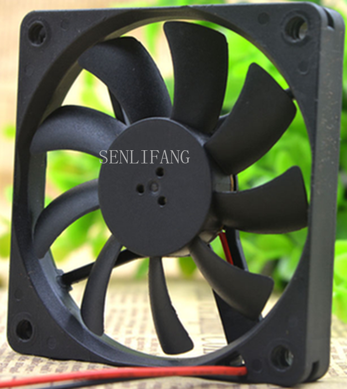 Free Shipping 7CM MB70101V1-000C-A99 12V 1.66W 7010 70*70*10MM 2 Wire Cooling Fan