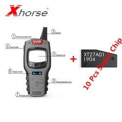 Xhorse VVDI Mini herramienta clave programador de mando a distancia soporte IOS y Android llave VVDI versión Global obtener 10 Uds Super Chip gratis