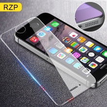 RZP Tempered Glass On The For Apple iPhone 5S 5 SE 5C Screen Protector Anti Blue Light Protective Film Glass For iPhone 5 Se 5S protective tempered glass screen protector for iphone 5 5c 5s transparent