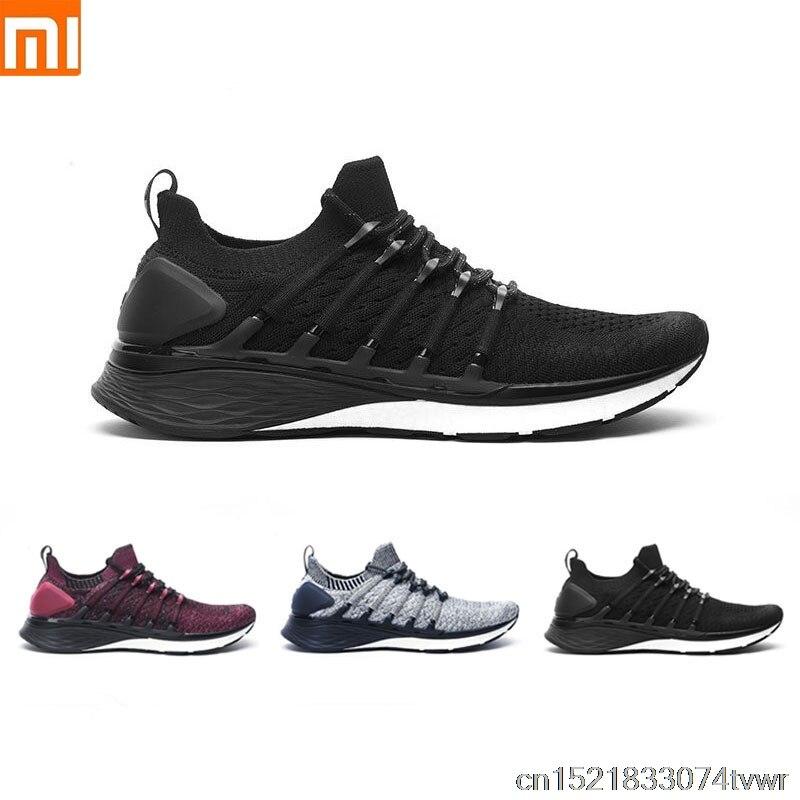 Original Xiaomi Mijia Sneaker 3 Running Shoes Popcorn Cloud Bomb 6 in1 Uni moulding 3D Smart Fishbone Lock System Knitting Upper