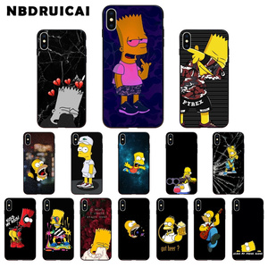 NBDRUICAI Special Funny Homer J.Simpsons Phone Case for iPhone 11 pro XS MAX 8 7 6 6S Plus X 5 5S SE XR case(China)