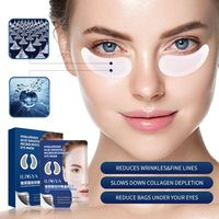 Micro-nadel Eye Patch Hyaluronsäure Anti-falten Auge Maske Feine Linien Entfernen Feuchtigkeitsspendende Fest Straffen Haut Pflege