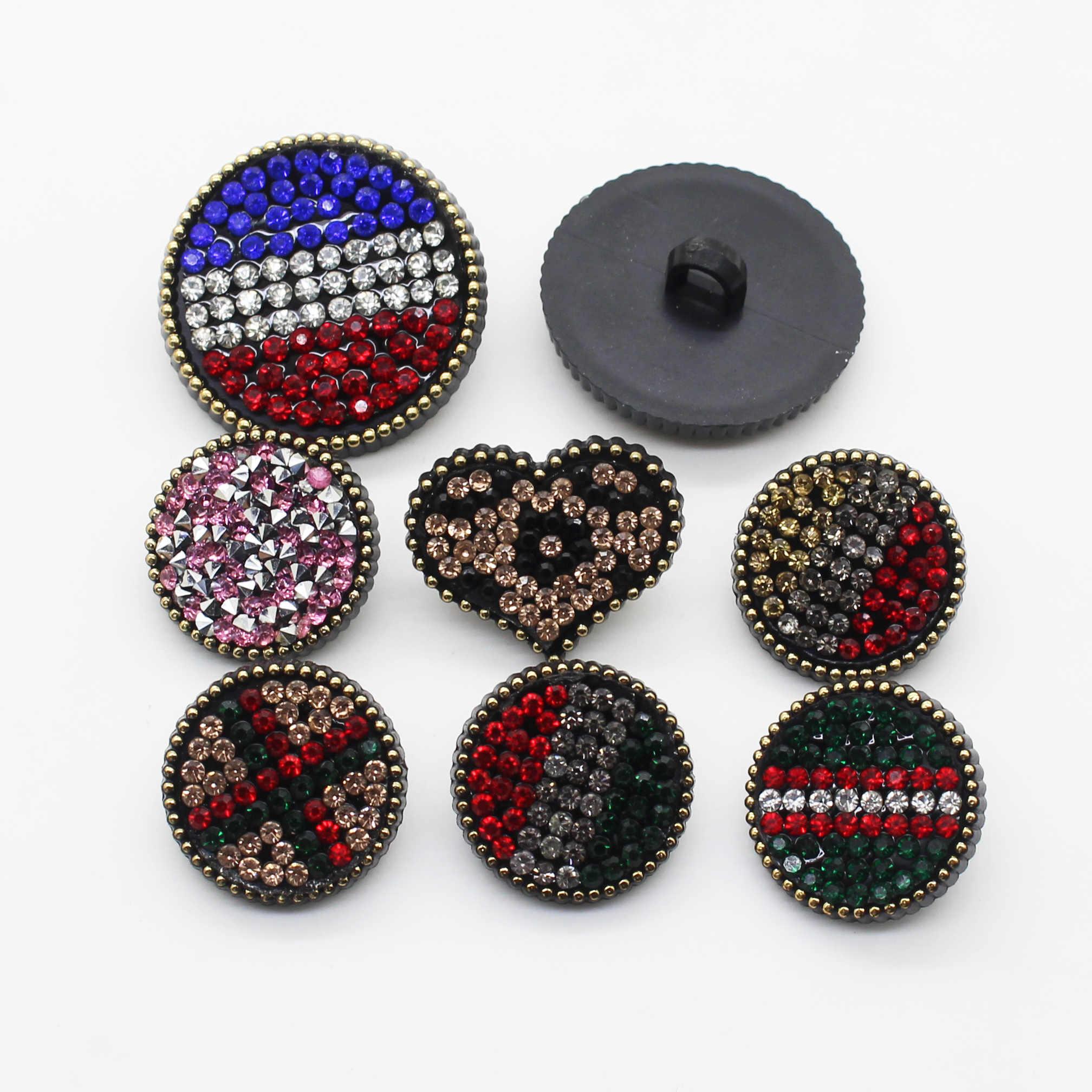Prix spécial! 10 pièces de haute qualité résine strass boutons, vestes, vestes, chemises, costumes, bouton accessoires de couture