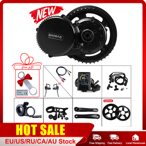 Bafang BBS02B 48V 750W Mid Drive Motor E-bike Conversion Kits BB 68-73 mm Electric Bicycle 8FUN Powerful Engine 44T 46T 48T 52T(China)