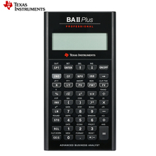 Ti BAII Plus Профессиональный CFA 10 цифр светодиодный калькулятор для студентов