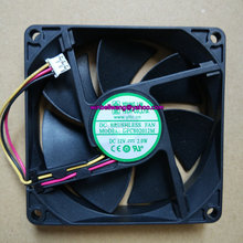 Brand new YOUNG LIN 80*80*20mm 8cm chassis fan DFC802012M 12V 2W low noise 3wires ~(China)