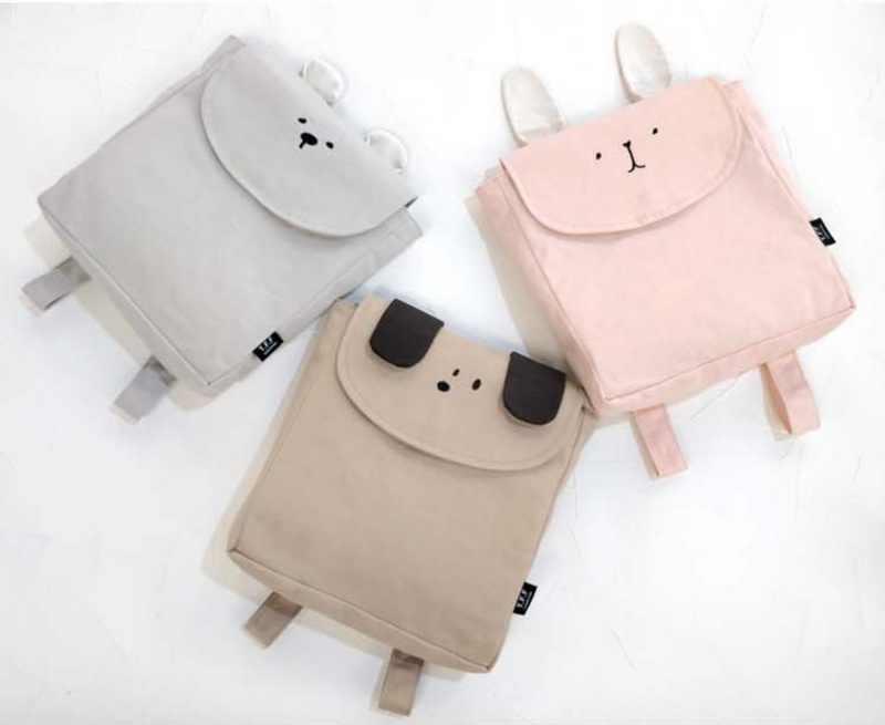 Bayi Indah Hewan Tas Gajah Lucu Beruang Kelinci Fox Anjing Nanas Selempang Tas Ransel untuk Balita Gadis Anak Laki-laki Kids TB001