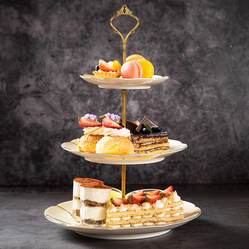 Tapa de soporte para tartas de cristal plato de servir cuenco con punz/ón de 24 cm tapa de pastel desierto plato de servir UPKOCH campana postre