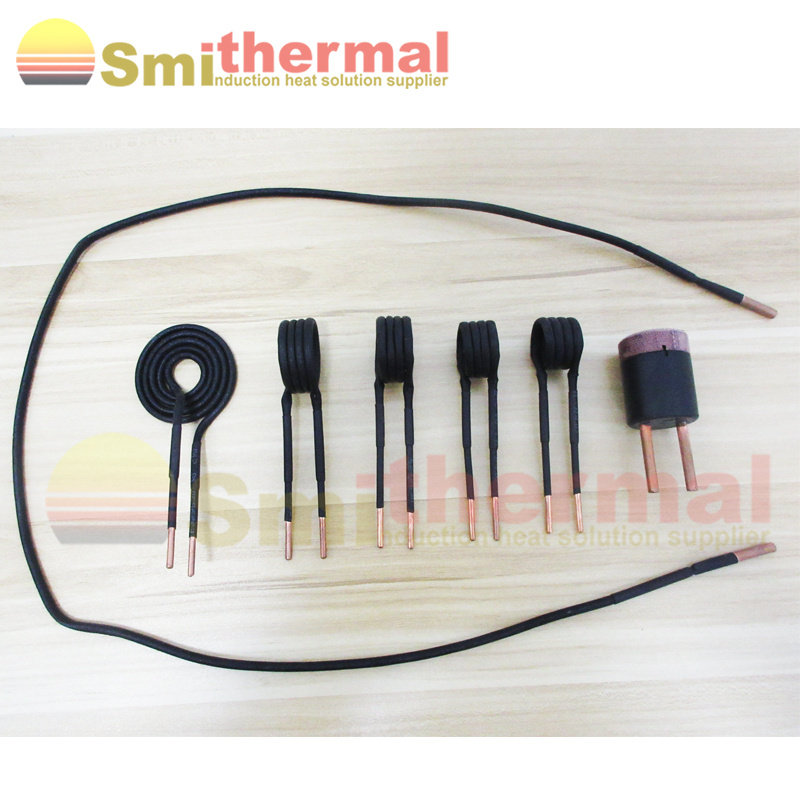 5 bobines + 1 fils + 1 tête de chauffage pour 220V 2000W Kits de bobine de chauffage par Induction