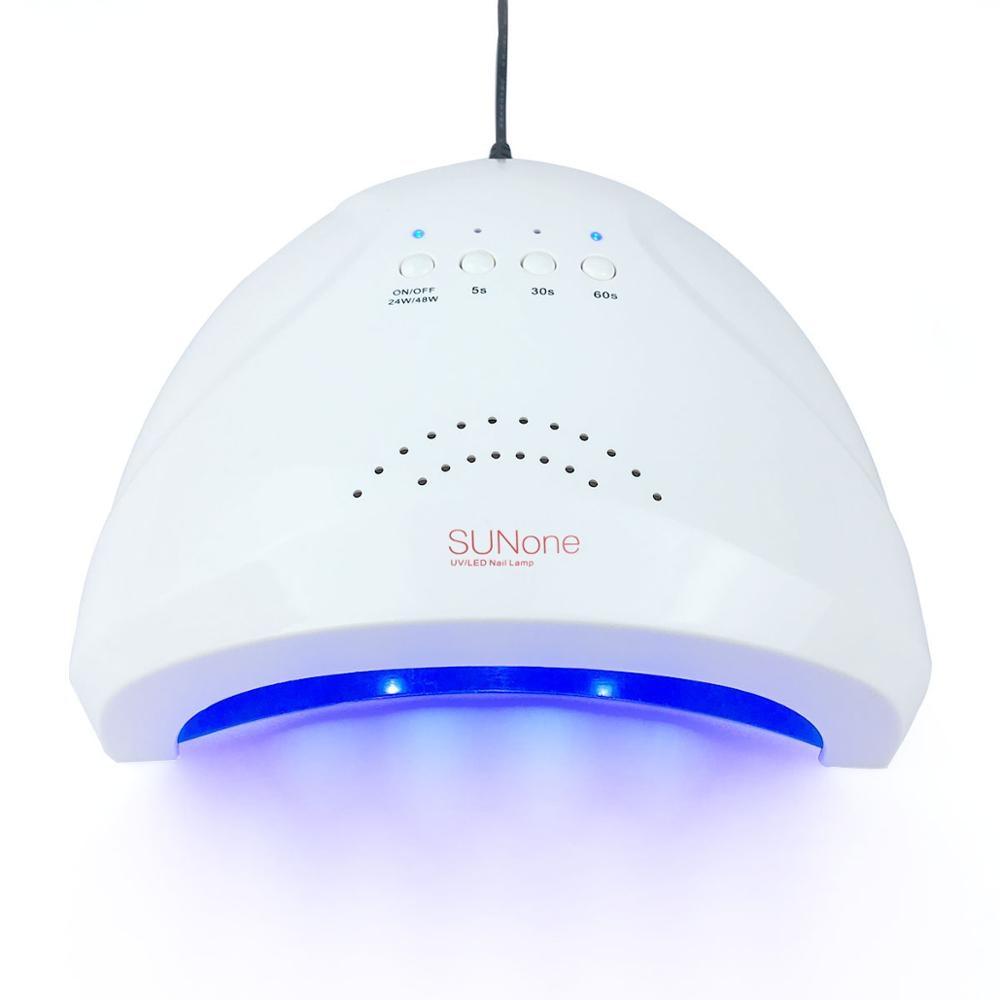 UV lampe ongles 48W sèche-ongles soleil un Gel vernis Machine à polymériser lampe avec fond 30/60s minuterie affichage séchage rapide lampe à Led ongles