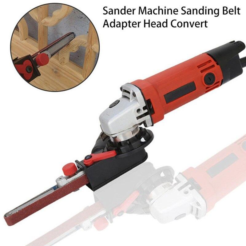 Ponceuse à bande accessoire ponçage ceinture adaptateur pour meuleuse d'angle électrique accessoires ménage bricolage meulage polissage BJSt