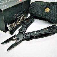 Ganzo 29 w 1 czarny G302B G302H składane szczypce narzędzia przenośne zewnątrz survival narzędzia gospodarstwa domowego zestawy dobrej jakości zestaw kombinacji w Zestawy narzędzi ręcznych od Narzędzia na