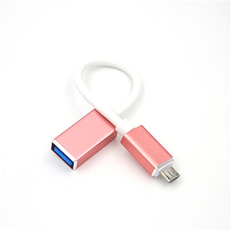 USB To Micro Usb Adapter OTG Cable USB Male To Micro USB 3.0 A Female Cable Adapter For Huawei Android OTG Converter