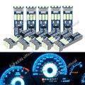 KEIN 10 шт. T5 Led W3W метр лампы приборная панель светильники 73 74 17 27 авто Интерьер Neo на приборной панели автомобиля тире Сторона лампа сигнальная ...