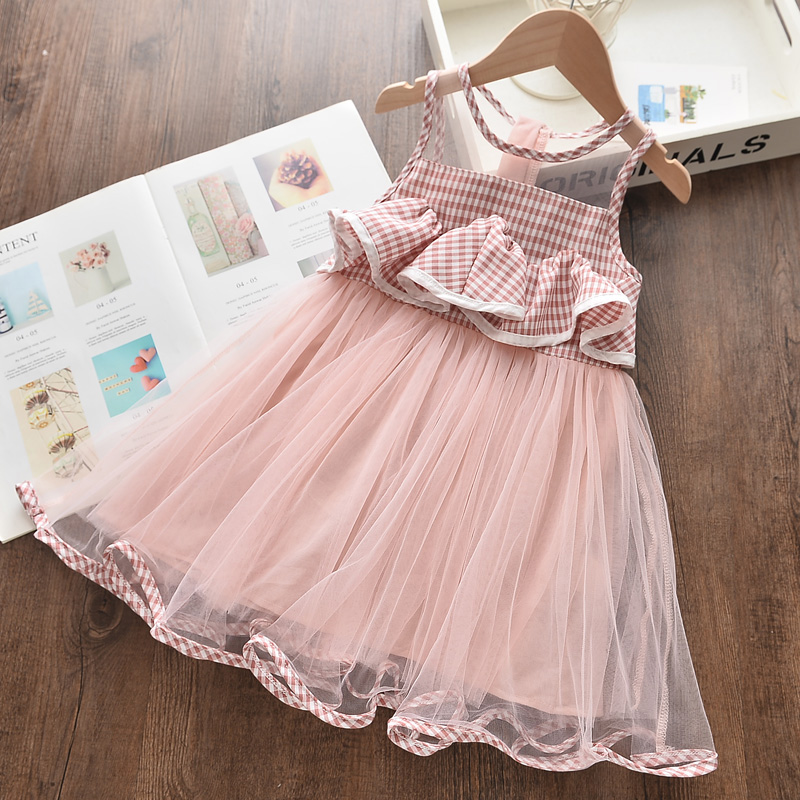 Bear Leader Little Girls Dress New Sweet Sequin Princess Dress for Girl Kids Dress 2 6 Years Children Vestidos Summer Costume 1