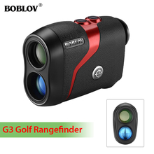 BOBLOV G3 Rangefinder Golf Range Finder 600m Distance Meter Monocular with Scan Speed Measurement Optic 600Y 6x21 golf laser range finder waterproof 600m laser speed distance measurement with pinseeker lock and fog model
