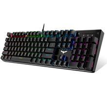 게임용 기계식 키보드 87/104 키 파란색 또는 빨간색 스위치 태블릿 데스크탑 용 키보드 러시아어/미국 스티커