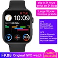 2020 оригинальные Смарт-часы IWO FK88 GPS позиция для мужчин 44 мм 1,78 дюйма IPS Bluetooth звонки музыка пульсометр Смарт-часы