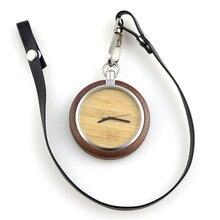 Дропшиппинг модные популярные мужские карманные часы с кожаным