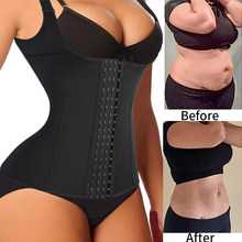 Waist Trainer Corset for Weight Loss Tummy Control Sport Workout Body Shaper Waist Cincher Tank Top Slimming Belt Faja Shapewear