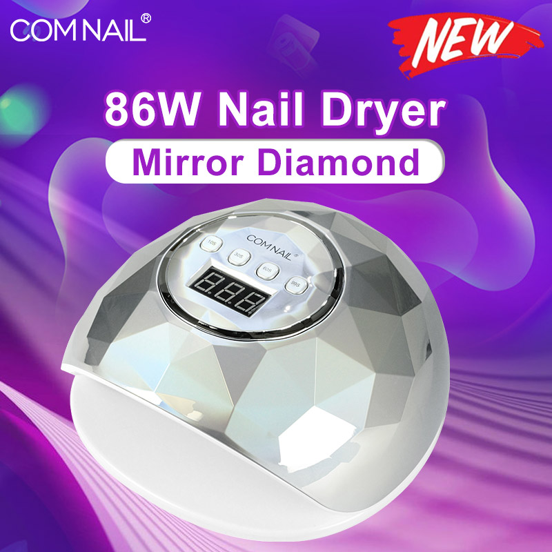 86W Lamp For Manicure Fast Curing Nail Gel UV Lamp Gel Polish Nail Dryer With LCD Display UV LED Nail Lamp Manicure Machine