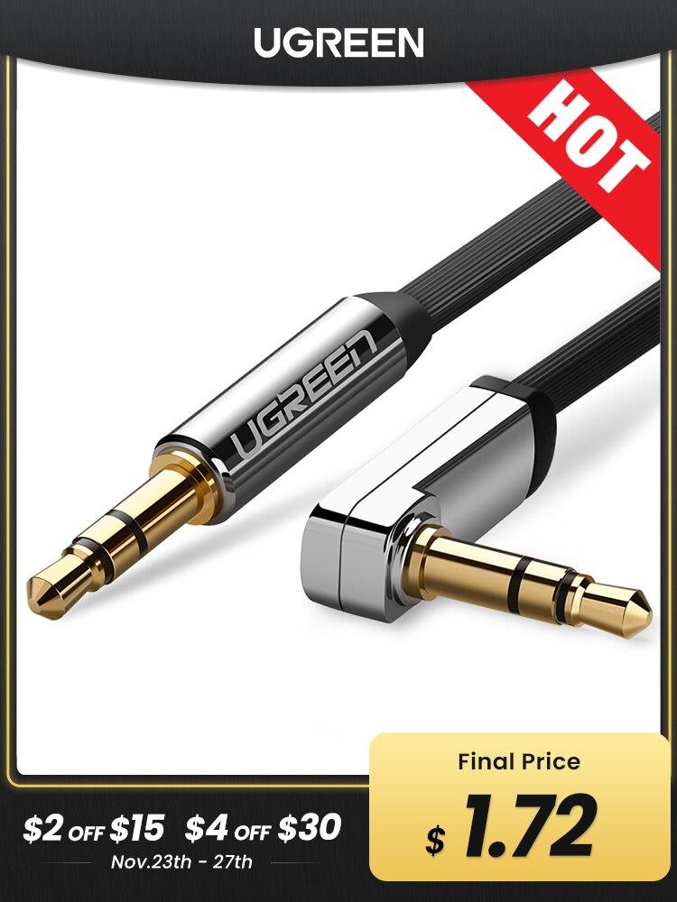 Jack-Speaker Cable Jbl-Headphones Oneplus Ugreen Xiaomi AUX for Car Xiaomi/Redmi/5-plus