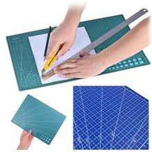 Tapis de planche à découper en PVC A4, lignes de grille Double face, tapis d'auto-guérison, tapis de découpe, bricolage d'accessoires de cricut, planches de fabrication de papier