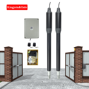 Automatic Double Swing Gate Opener, Electric Gate Opener with Remote Control for Industrial and Residential Gate automatic motor gate opener industrial park remote control sliding gate opener for 1800kg weight gate operater motor enginer
