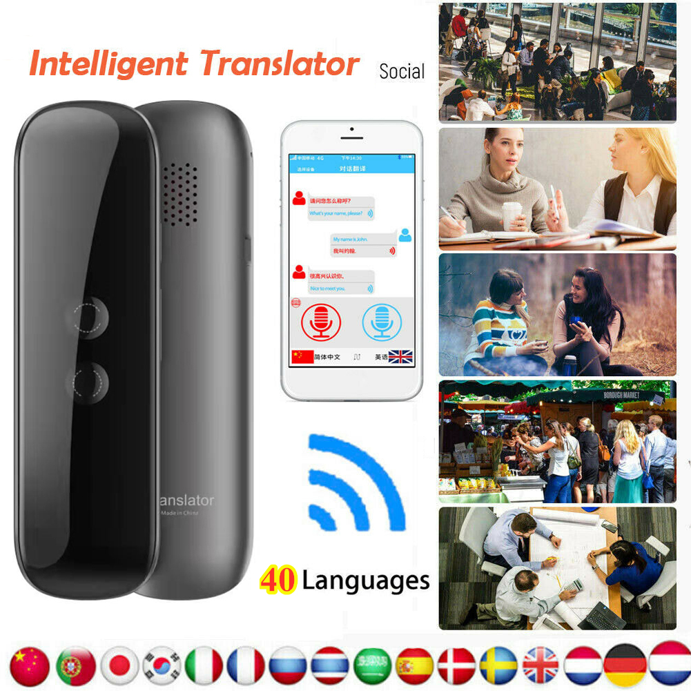 DHL Übersetzung MUAMA Enence 40 Languages Smart Translator Sofortiges Sprachfoto