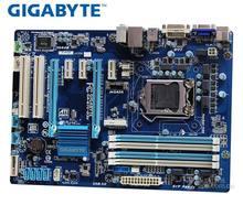 Б/у оригинальная материнская плата Gigabyte, материнская плата LGA 1155 DDR3 32 Гб B75, десктопная системная плата SATA II SATA III