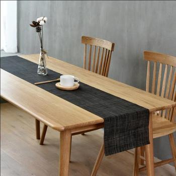 Fyjafon PVC Table Runner Wipe Clean Heat Resistant Table Runner Dining Table Runner Non-slip Washable Runner Tailorable фото
