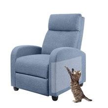 2 шт кошачья Когтеточка защита на мебель прозрачный самоклеящийся коврик для домашних животных диване протектор комплект с 10 шт спиральные булавки