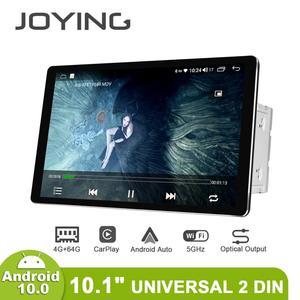 Image 1 - 신제품 자동차 라디오 2din 멀티미디어 안드로이드 10 헤드 유닛 4 기가 바이트 64 기가 바이트 HD 1280*800 Autoradio 오디오 시스템 Carplay 4G 블루투스 DVR
