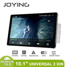 منتج جديد راديو سيارة 2din الوسائط المتعددة أندرويد 10 رئيس وحدة 4GB 64GB HD 1280*800 Autoradio نظام الصوت Carplay 4G بلوتوث DVR