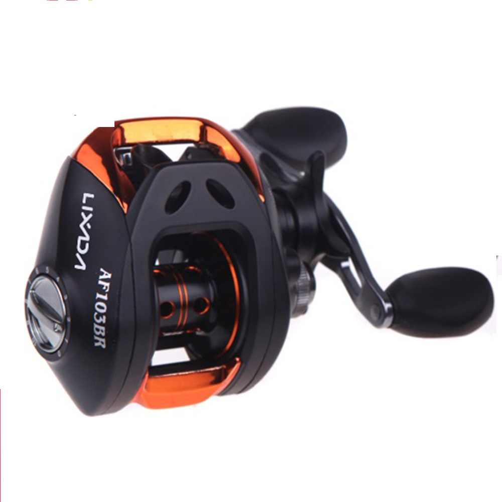 Fishing REEL 10 + 1BB Ball Bearings Baitcasting Reel Umpan Casting Memancing Reel Kecepatan Tinggi 6.3: 1