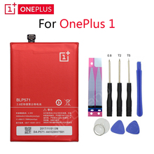 ONEPLUS Original Phone Battery For OnePlus 1 A0001 BLP571 3000/3100mAh High Quality Replacement Li-ion Batteries Free Tools цена и фото
