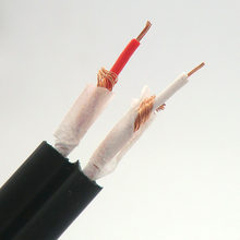 4.0mm Audio Cable 2RCA Dual-channel Red-white lotus wire AV High-fidelity Oxygen-free Copper Signal Audio Splitter Cable