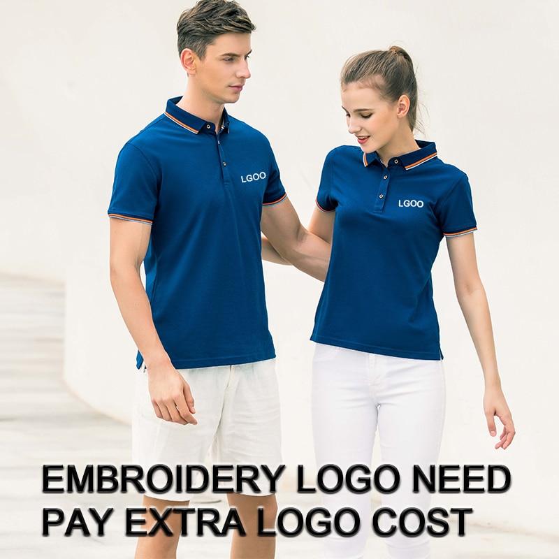 Embroidered Women/'s Polo Shirt Business Polo Shirt
