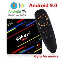 H96 MAX Plus TV BOX Android 9.0 4GB RAM 32GB 64GB ROM Rockchip Set Top Box 5G Wifi 4K smart Media Player pro PK X96 RK3318 HK1