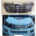 Автомобильный Стайлинг  передняя решетчатая решетка для гоночного гриля  подходит для ISUZU DMAX D-MAX 2012-2015 г.  Бесплатная доставка